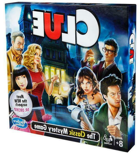 clue board game new free shipping
