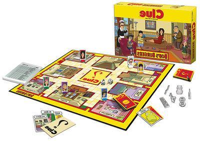 clue bob s burgers board game