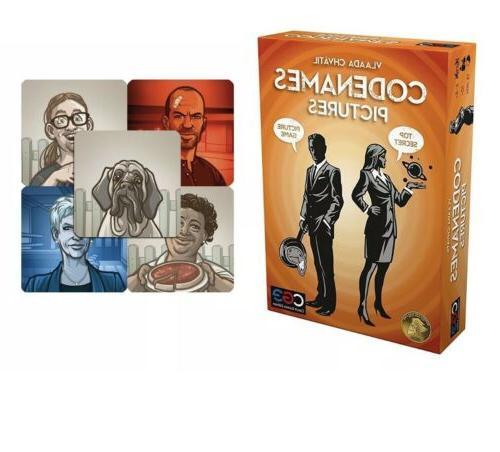 Codenames Pictures Promo Tiles Board Game Czech Games Editio