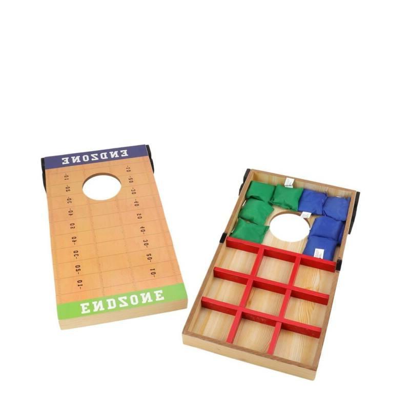 Cornhole Bean Bag Game Games 2 Bags w/Carry