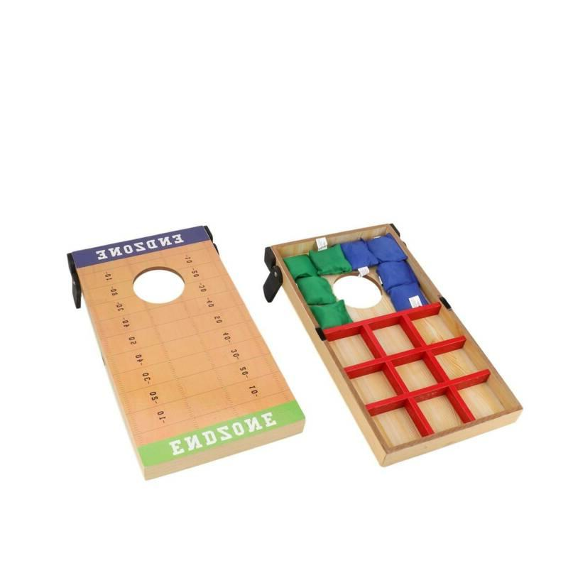 Cornhole Bag Game Set Games Boards 8
