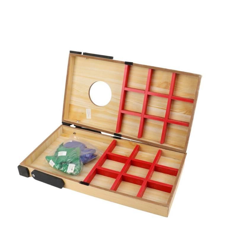 Cornhole Bean Bag Game Set Games 2 Boards Bags w/Carry