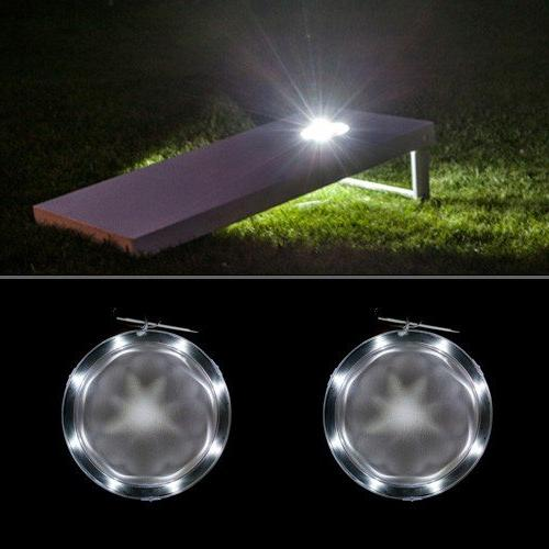 cornhole lights set