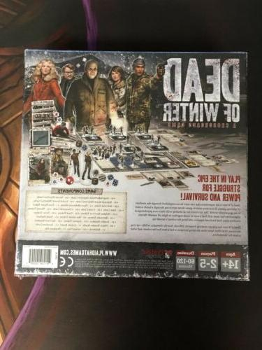 Dead of Winter Board Game Game Sealed in