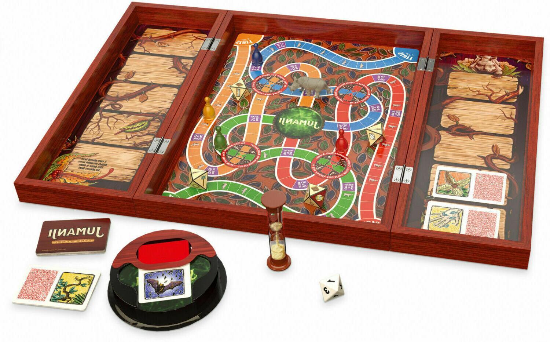 Deluxe Jumanji Retro Board Game Box Party