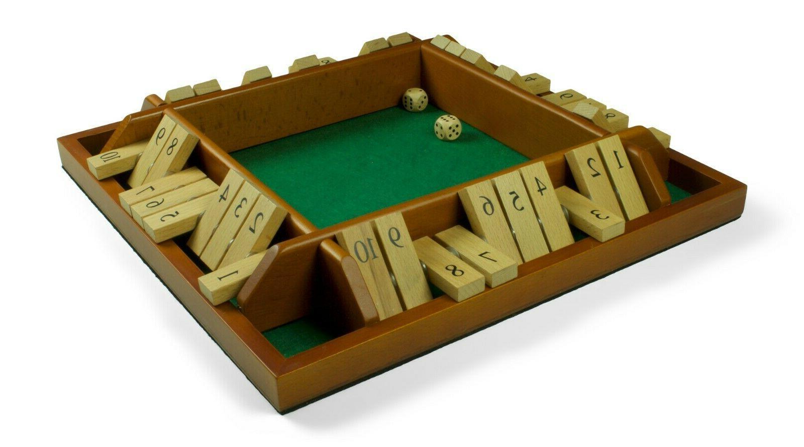 Endgamz The Box 4 Math Game with Lid NEW