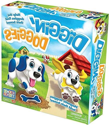 Diggin Doggies - Board Game by International Playthings