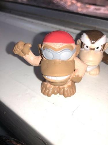 Donkey Kong Nintendo Figure Board Game Lot Funky