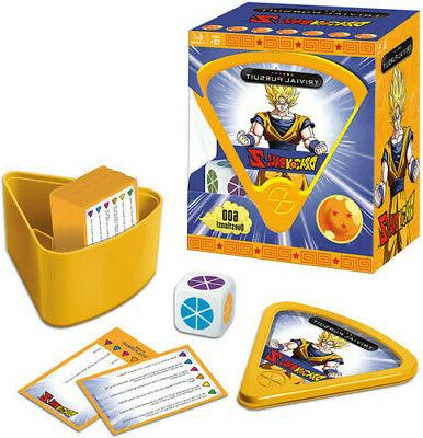 dragon ball z trivial pursuit board game