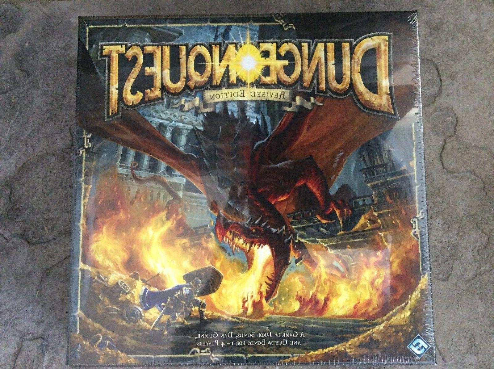 dungeon quest revised edition board game new