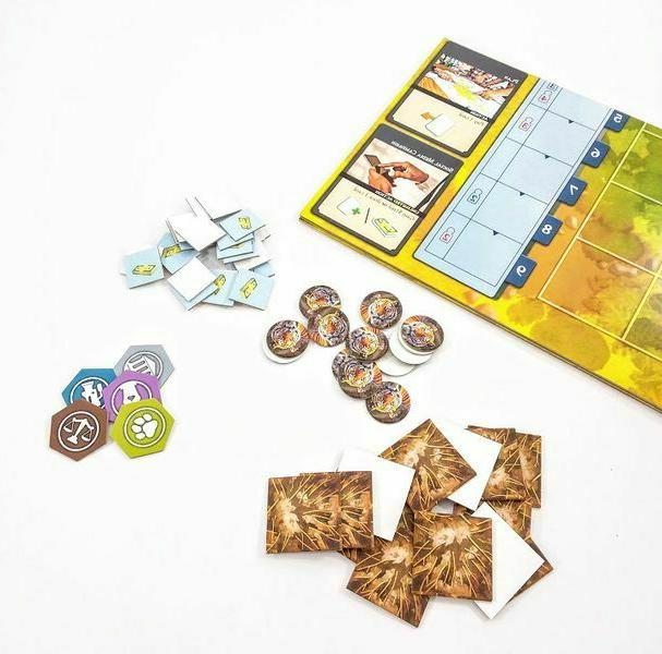 Endangered Board Game You can Save Animals Survival Game