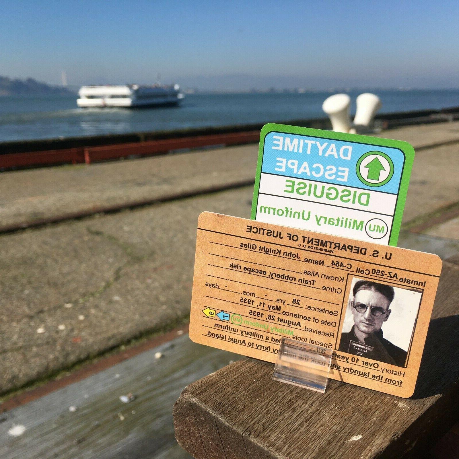ALARM Alcatraz Game
