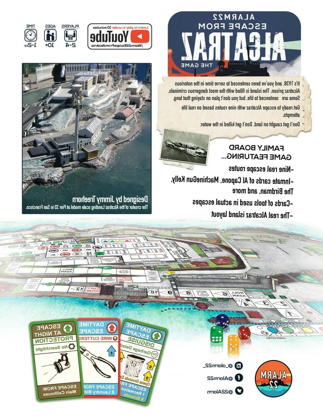 ALARM Alcatraz Board Game