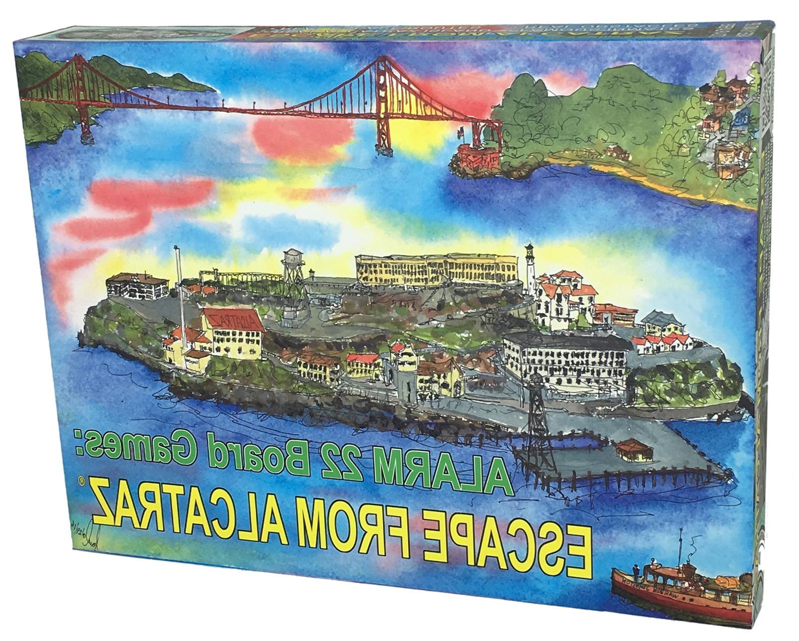 escape from alcatraz board game