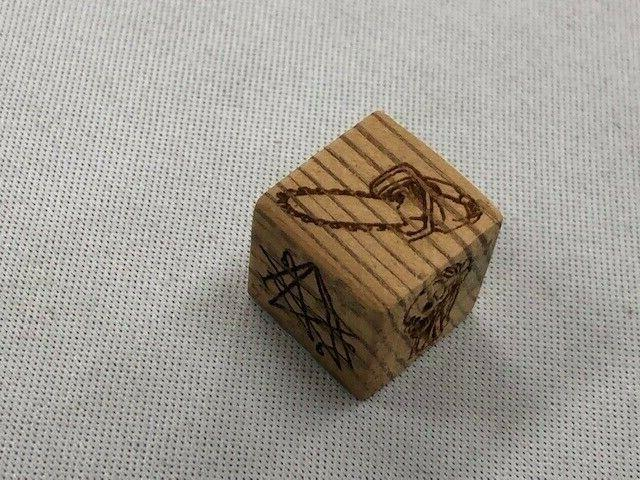 Evil 2 Board Game - Dice From From Actual Movie Cabin
