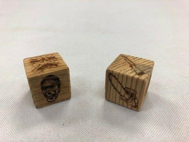 evil dead 2 board game dice made