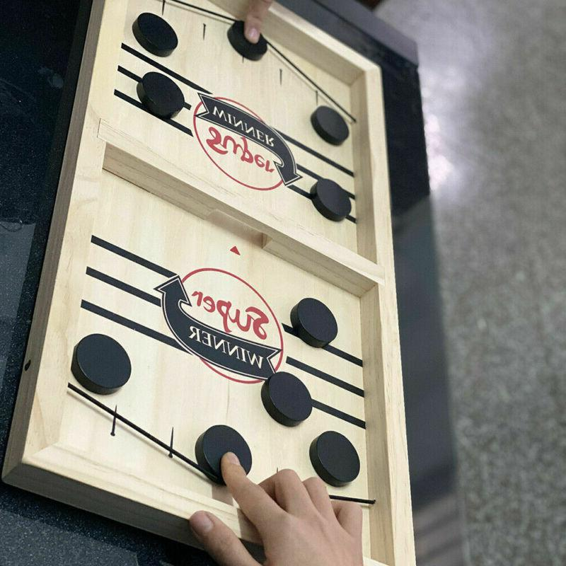Fast Paced Sling Puck Board Family Adult