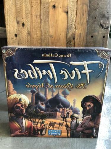 five tribes board game brand new