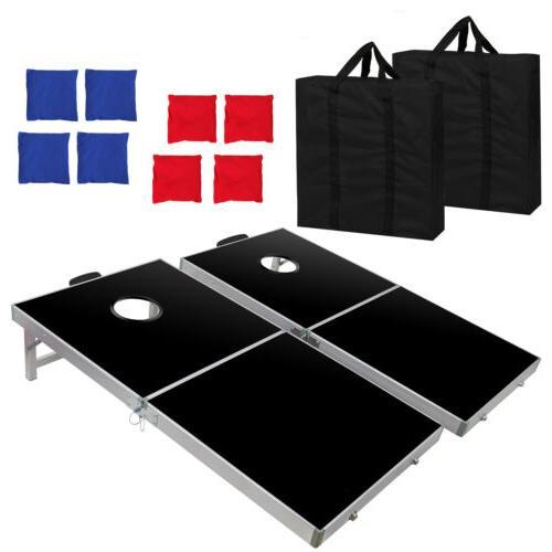 Cornhole Game Set Boards Regulation 2FT