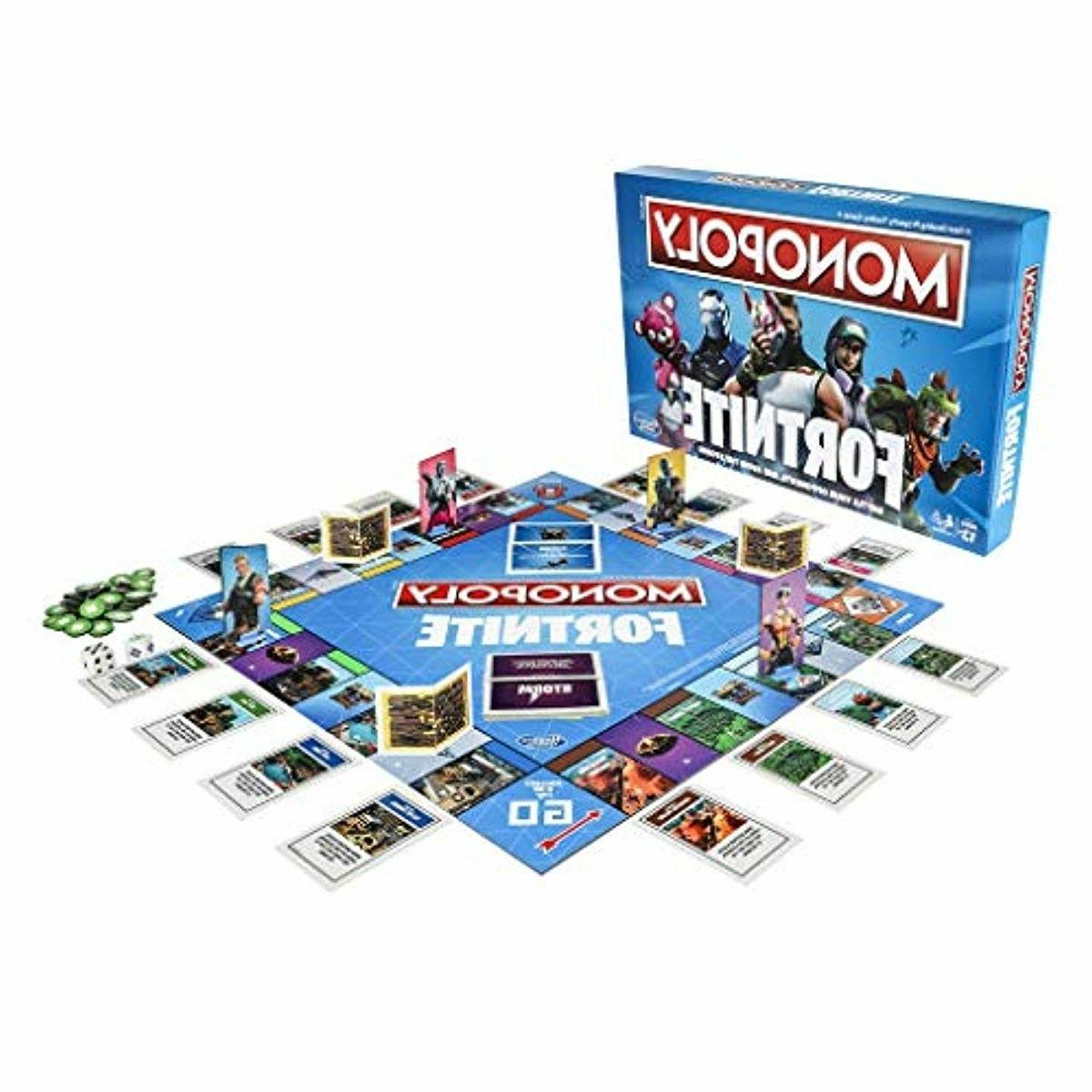 fortnite edition board game inspired by fortnite