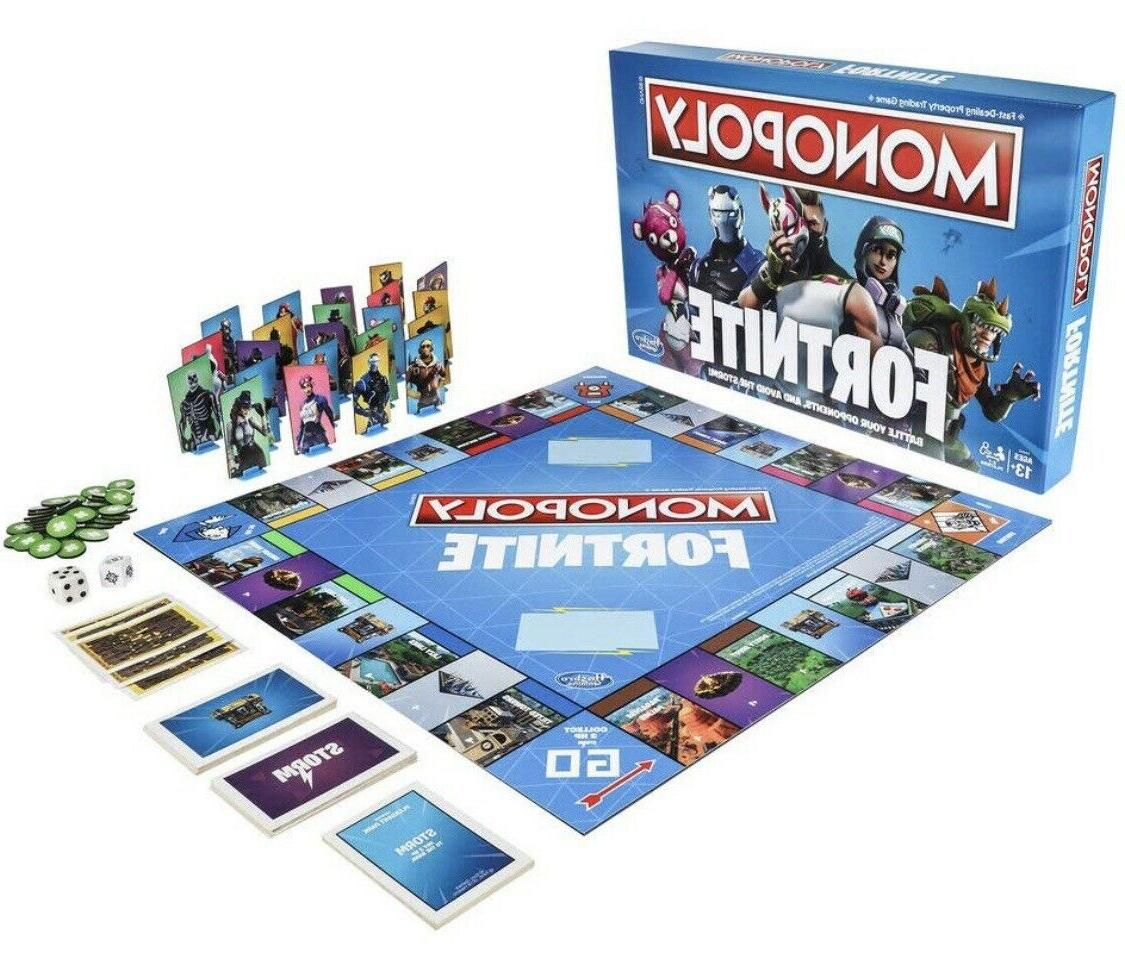 Fortnite Board Game Limited Edition Fornite Monoply SHIPS