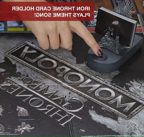 Game Thrones Monopoly Board Game 2-6 Players Collectible