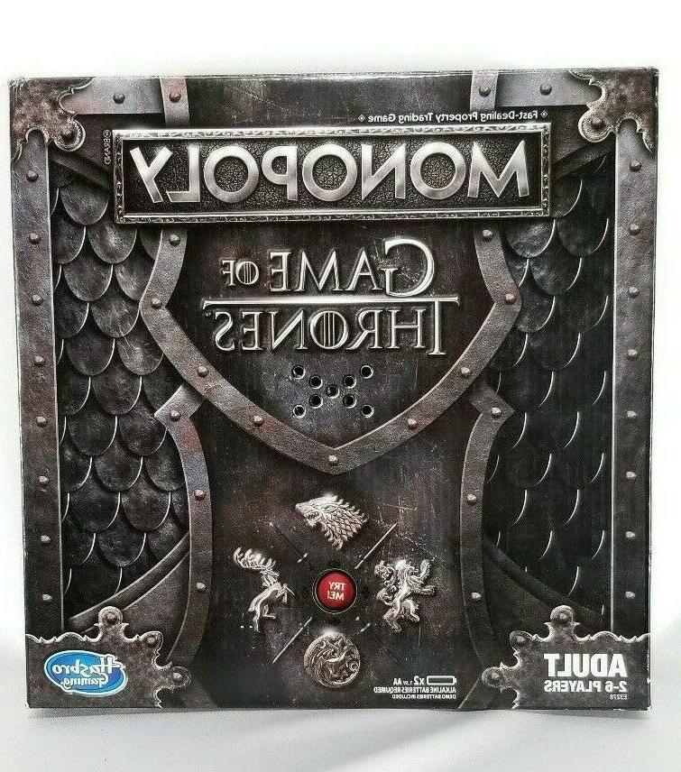 game of thrones monopoly board game 2