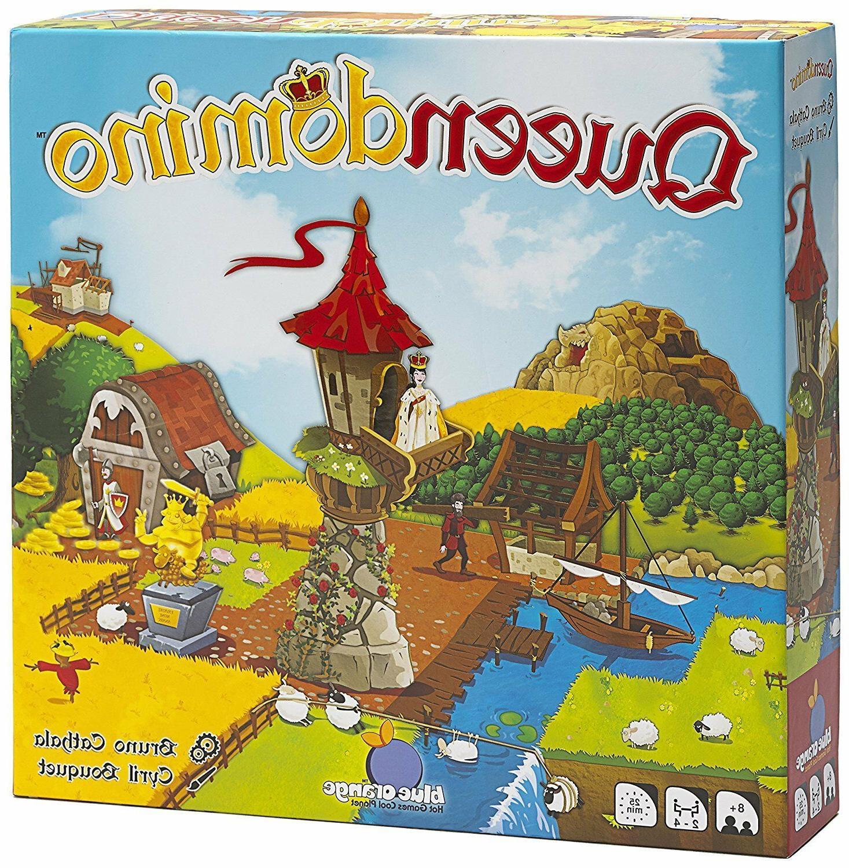 games queendomino strategy board game