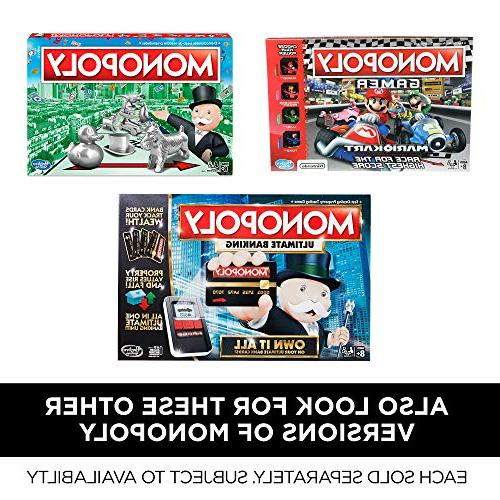 Monopoly Cheaters Board Game Ages 8 and Up