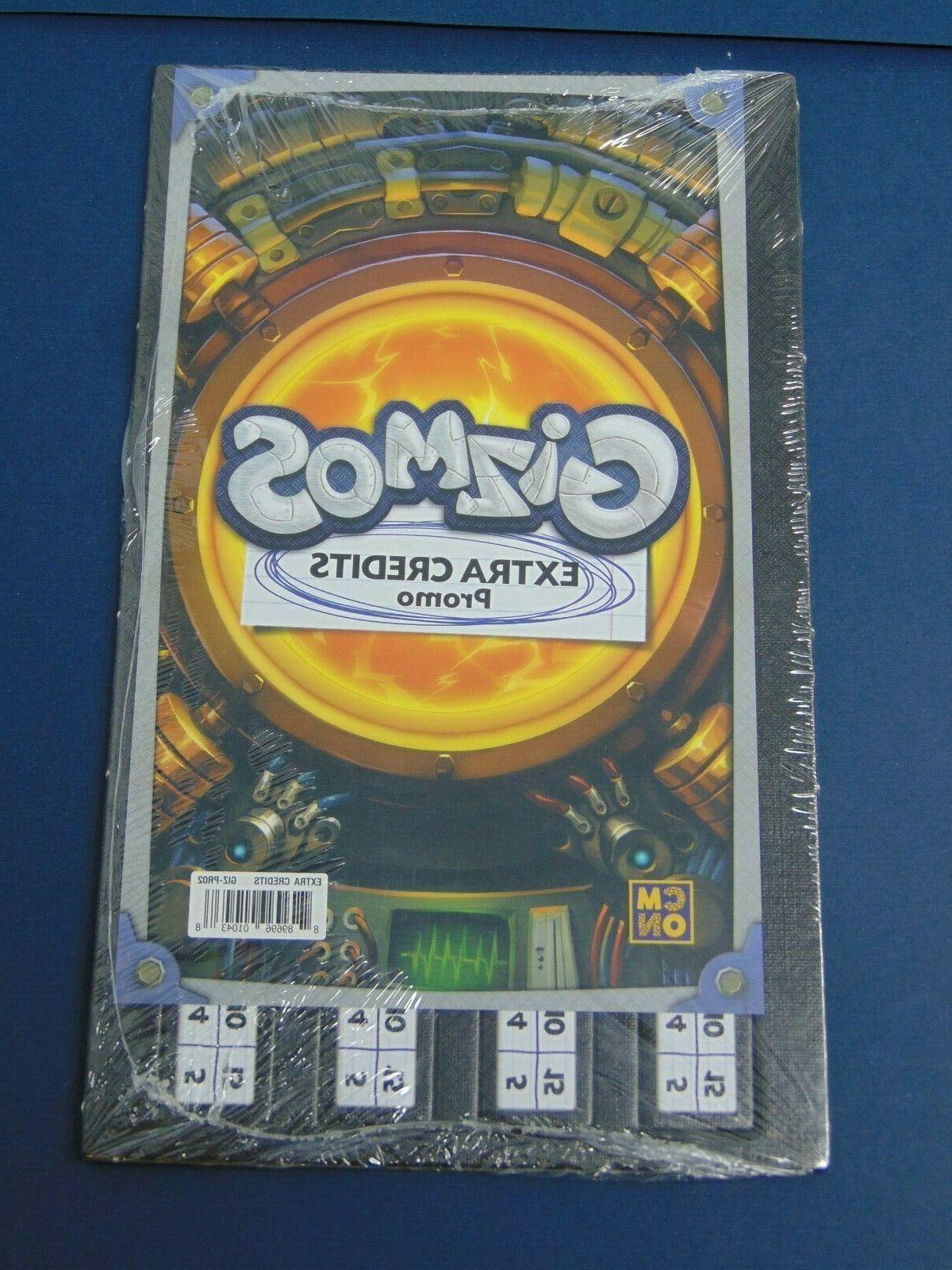 gizmos extra credits promo board game ez58