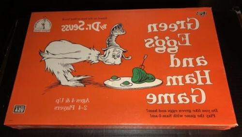 green eggs and ham board game new