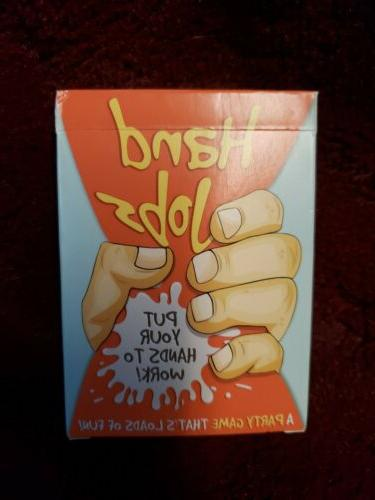 hand jobs adult party game hilarious board