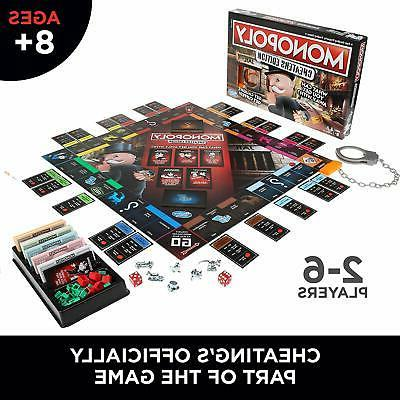 Hasbro Monopoly Game: Cheaters Edition 8 Up