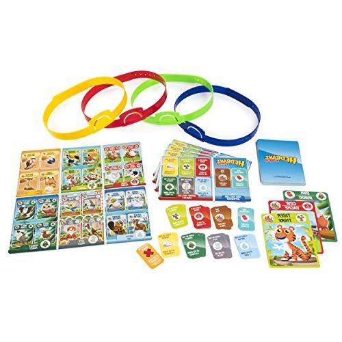 HedBanz Jr. Family Board Game Kids Up