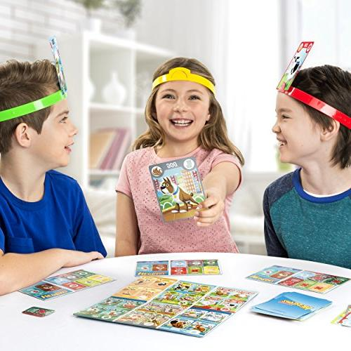 HedBanz – HedBanz Jr. Family Board Kids 5 And Up