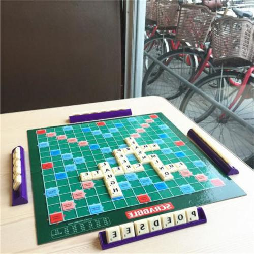 HOT Board Game Classic Crossword Game Kids Family Intelligen