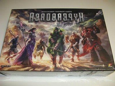 Hyperborea NEW SW fantasy boardgame Asmodee Games exploratio