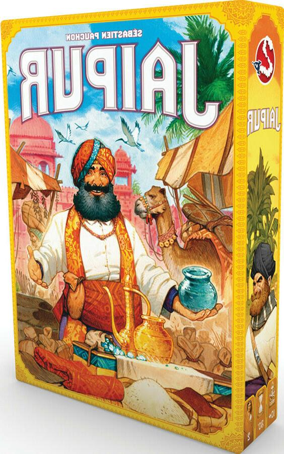 jaipur new edition board game factory sealed