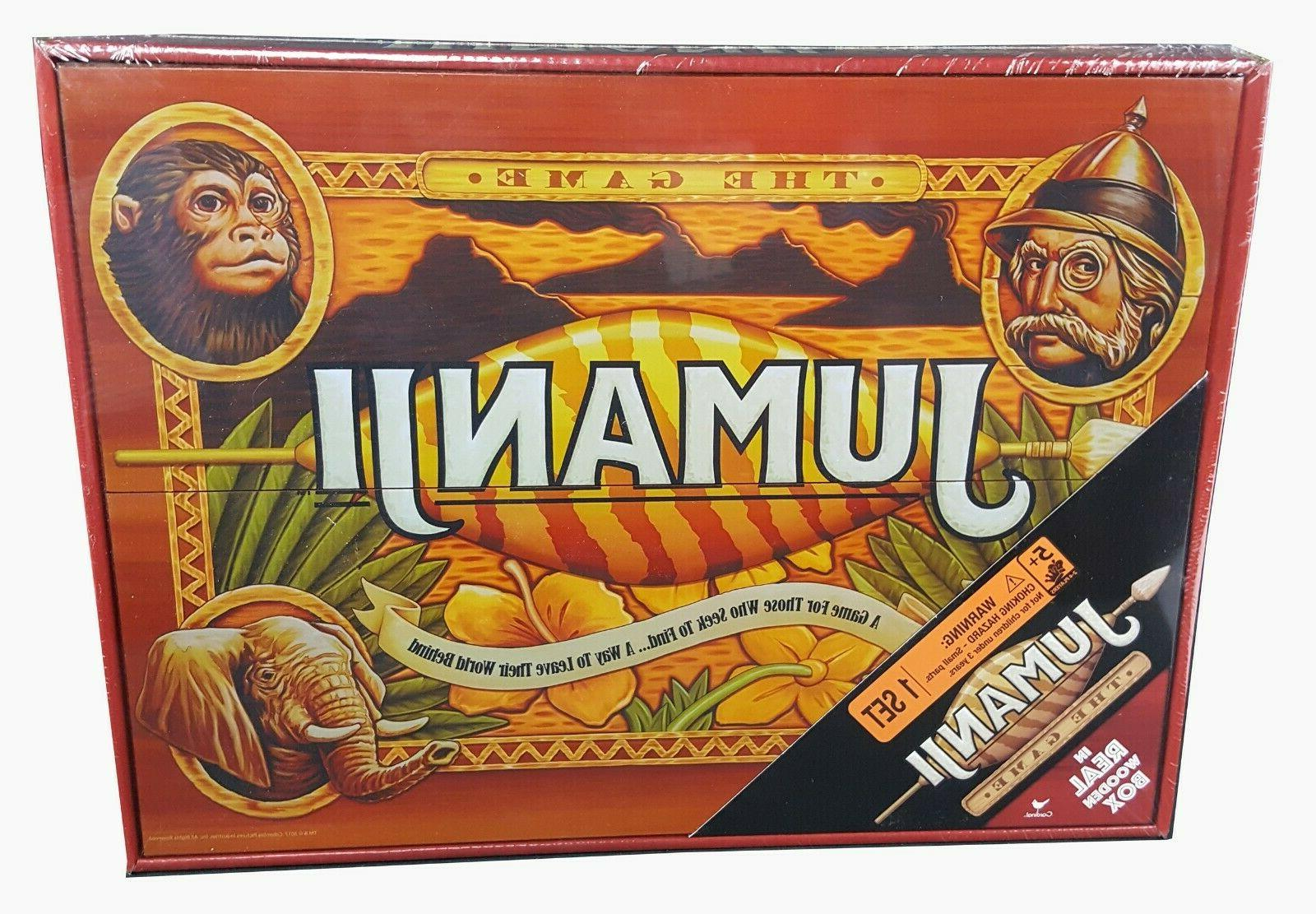 Jumanji Real Wooden Box Toys Puzzles Board Games Family