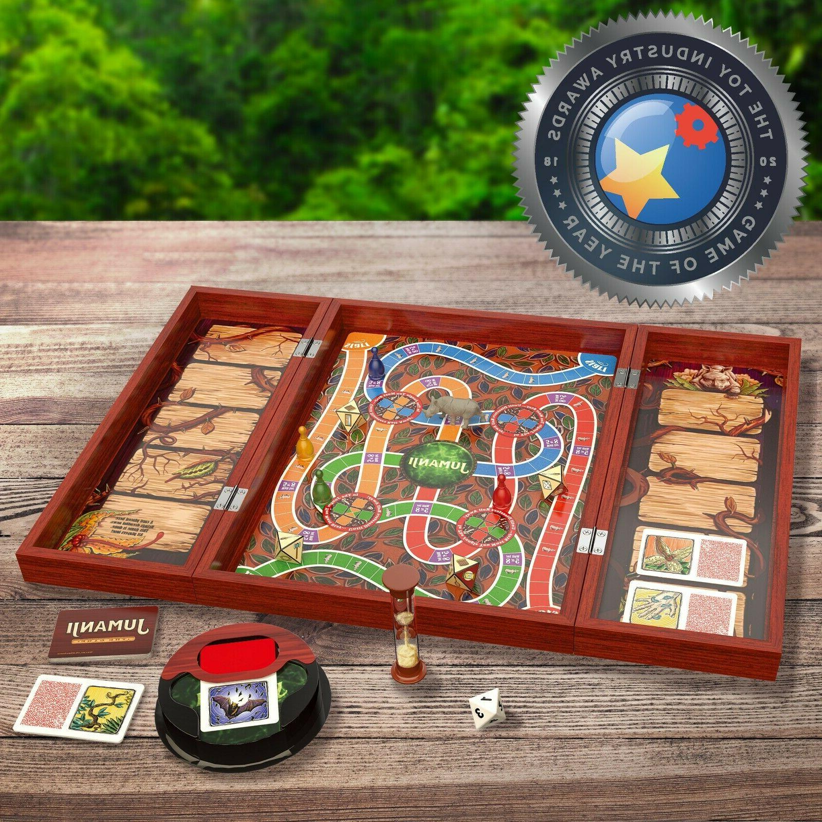 Jumanji Real Wooden Puzzles Game Family Retro