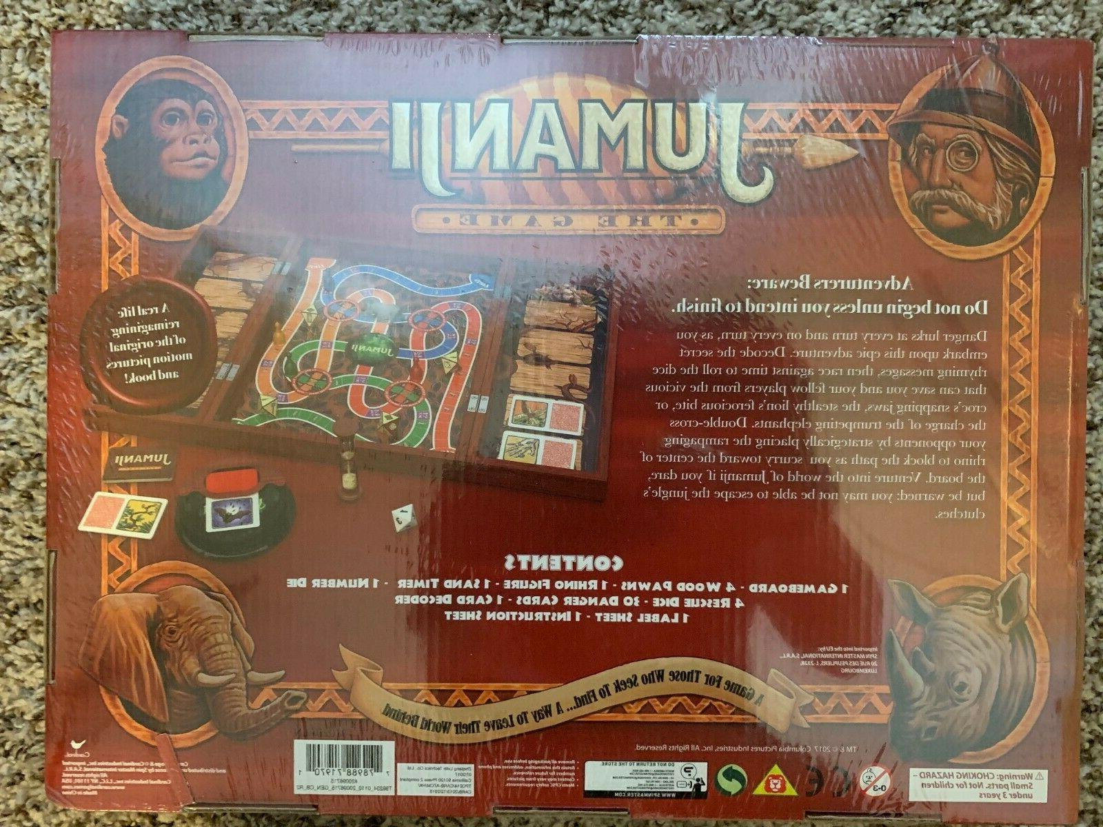 Jumanji The Game Real Wooden Box Toys Puzzles Family