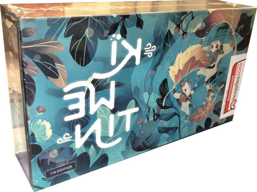 kiwetin board game factory sealed brand new
