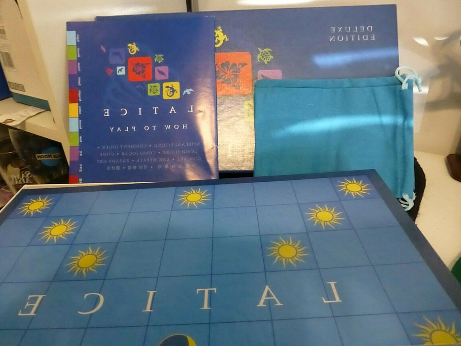 Latice Deluxe Edition Strategy Tile Adacio NEVER