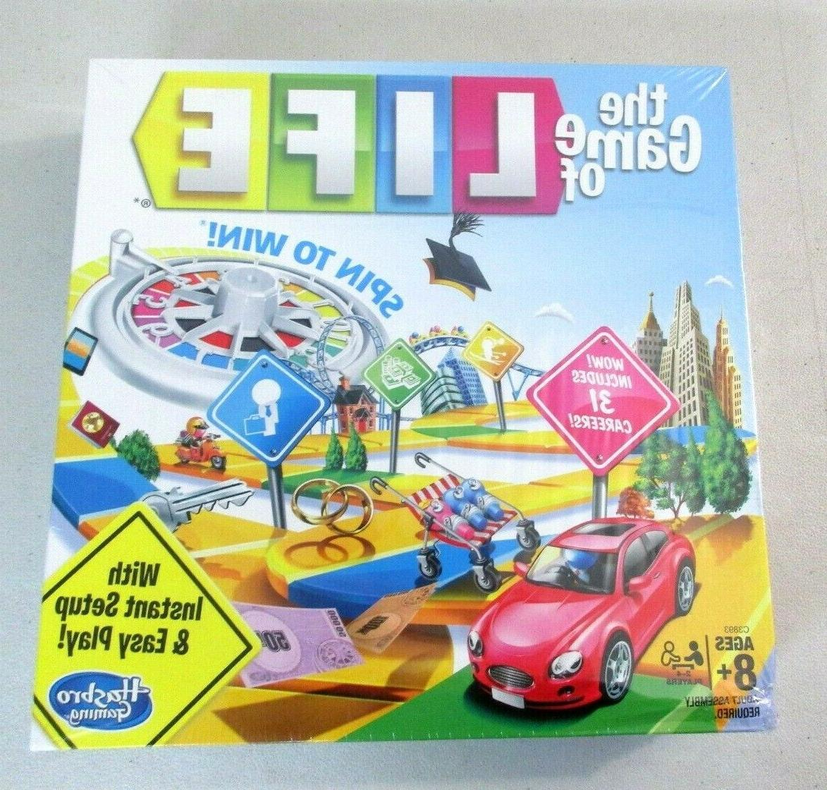 life board game ages 8 and up