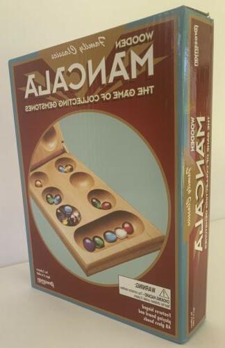 Mancala Wooden game