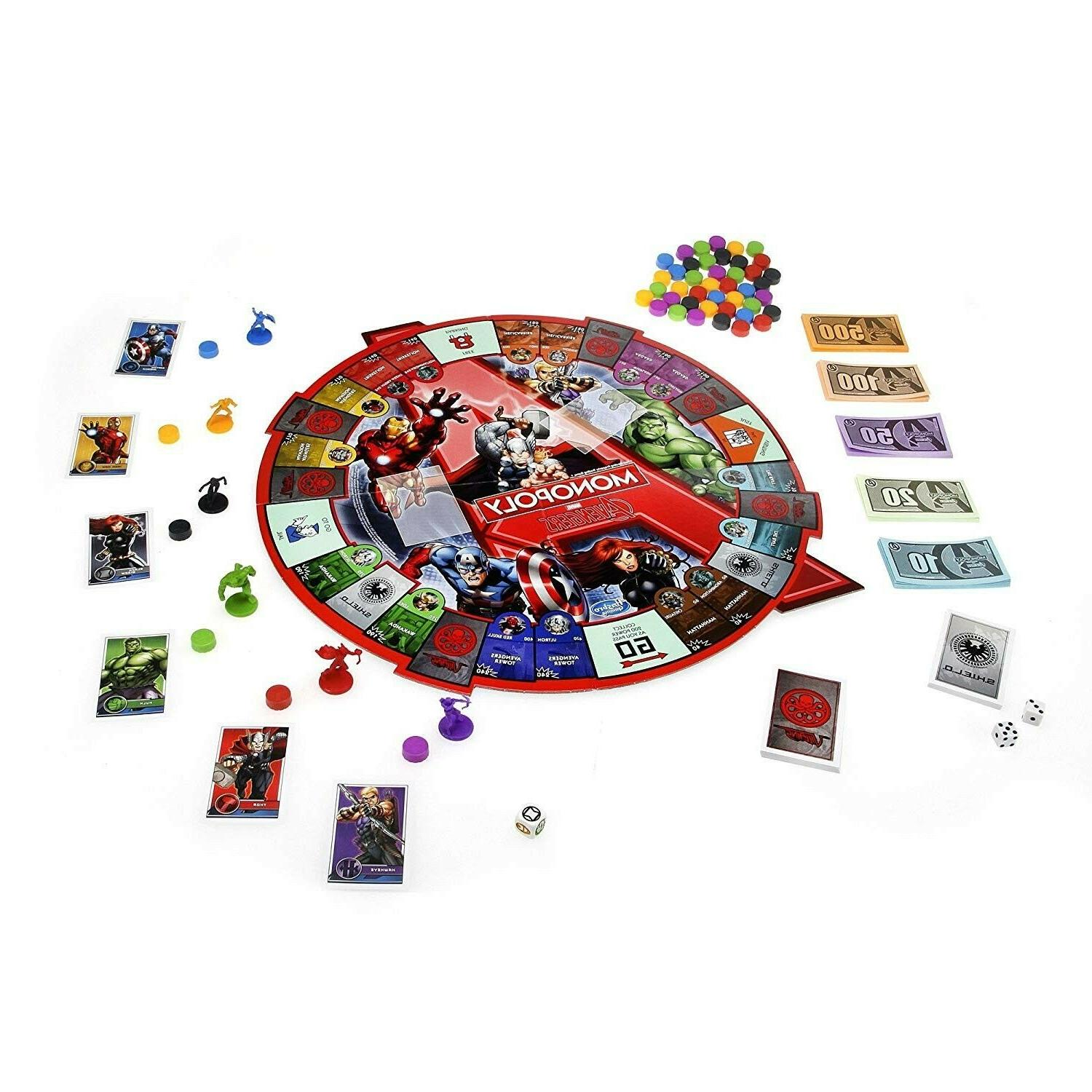 Marvel MONOPOLY Game by Tokens Hulk!!