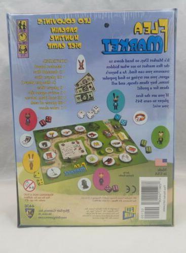 Mayfair Board Game FLEA MARKET in Sealed Box
