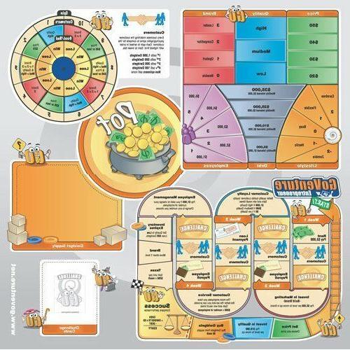 MediaSpark Fun, Educational Business Board Game- NEW