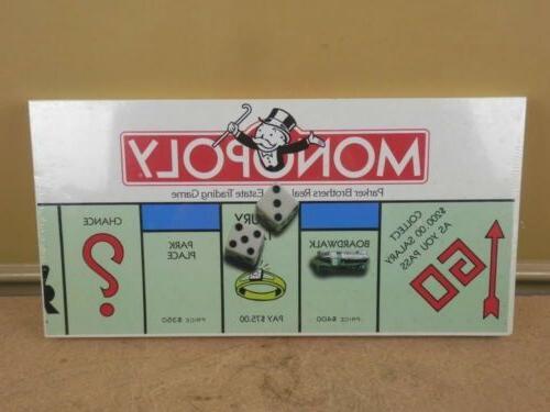 monopoly board game vintage 1985 parker bros