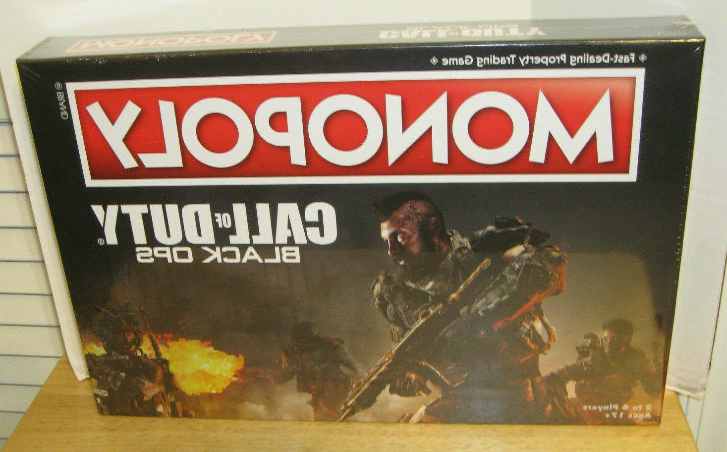 monopoly call of duty black ops board